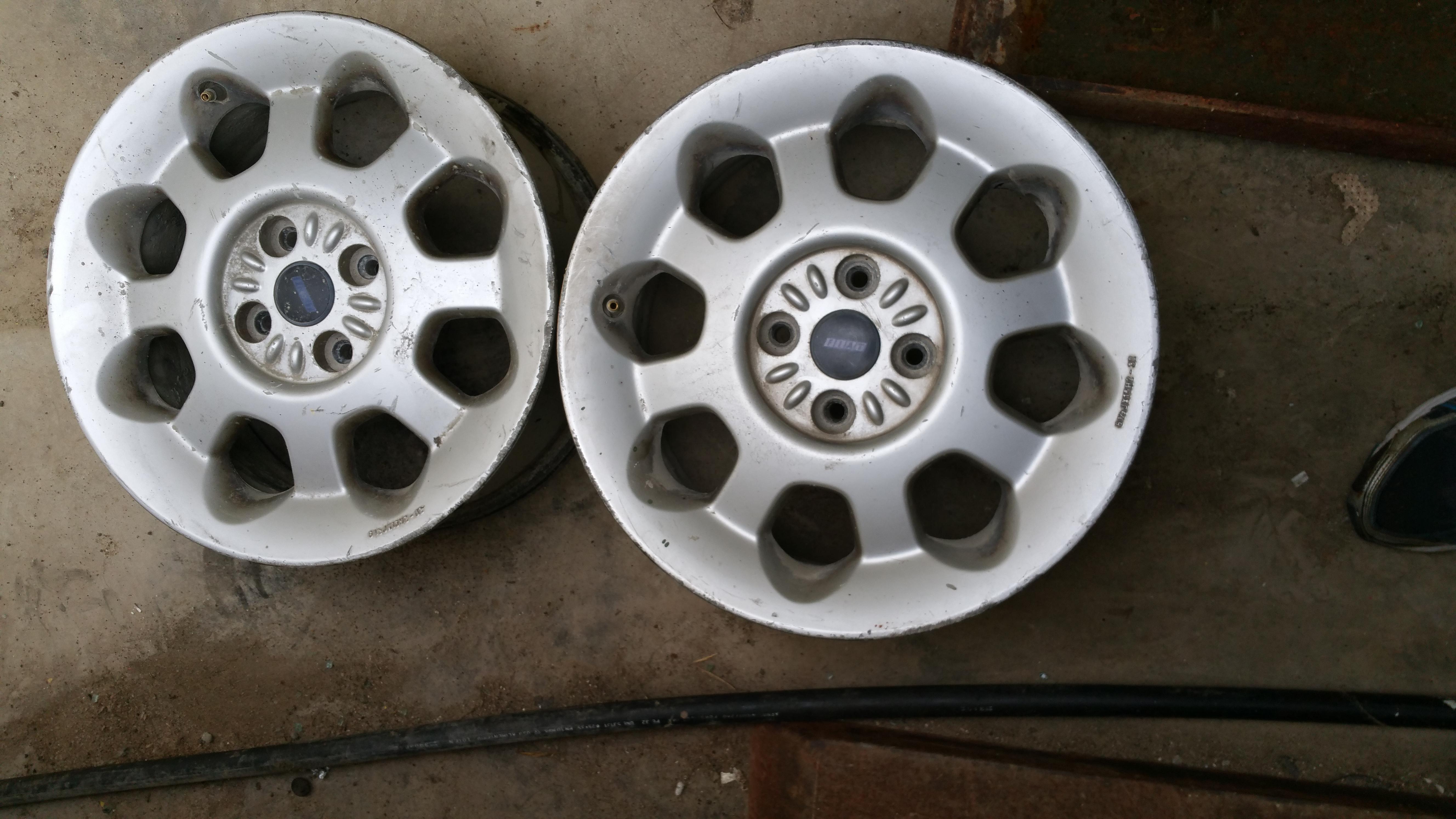 """2 Llantas Originales Fiat Barcheta 15"""" PCD 4X98"""